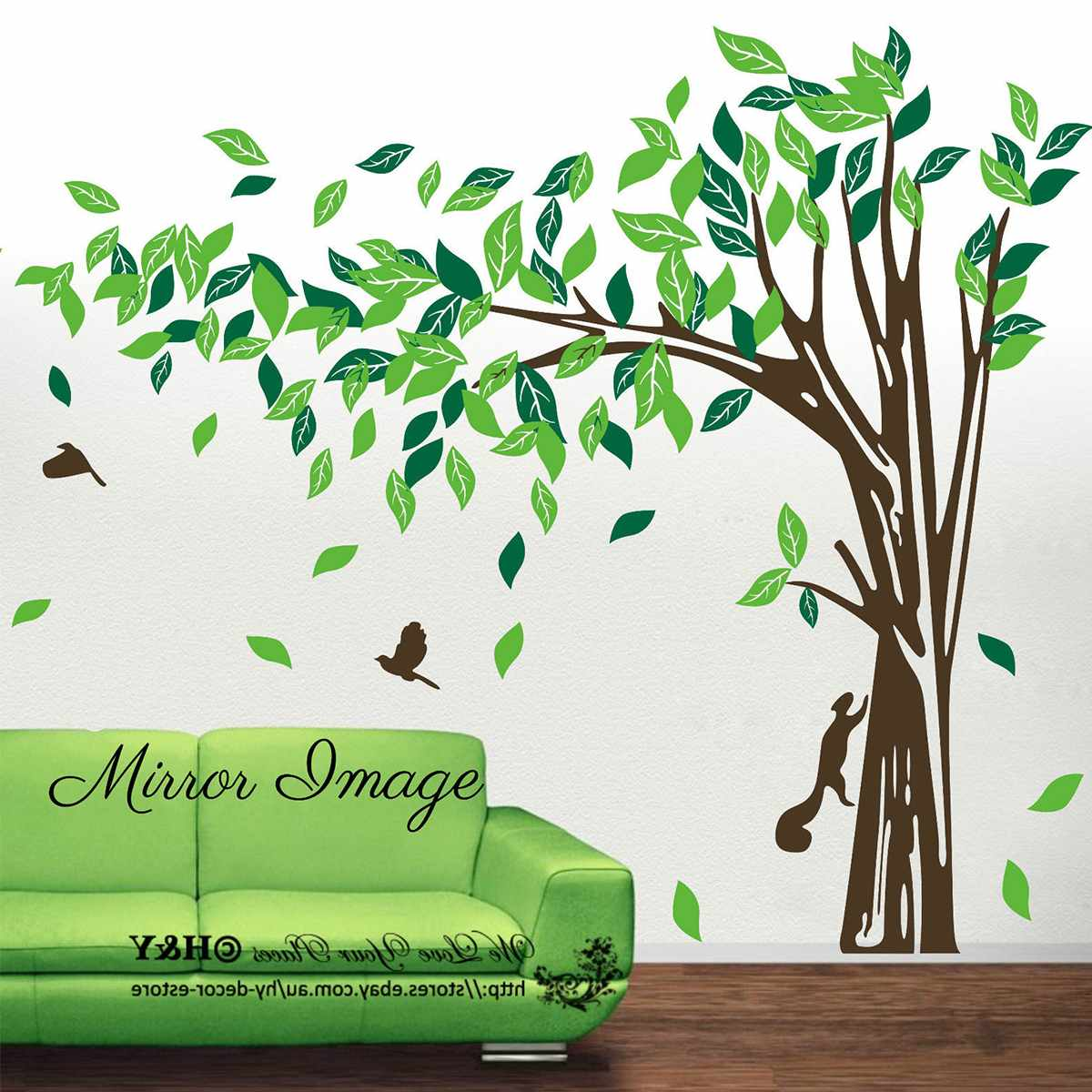 [해외]3D DIY Wall Sticker Stickers decorations for home 3d butterfly wall stickers Room Decorations Jungle Tree Removable Wall home/3D DIY Wall Sticker