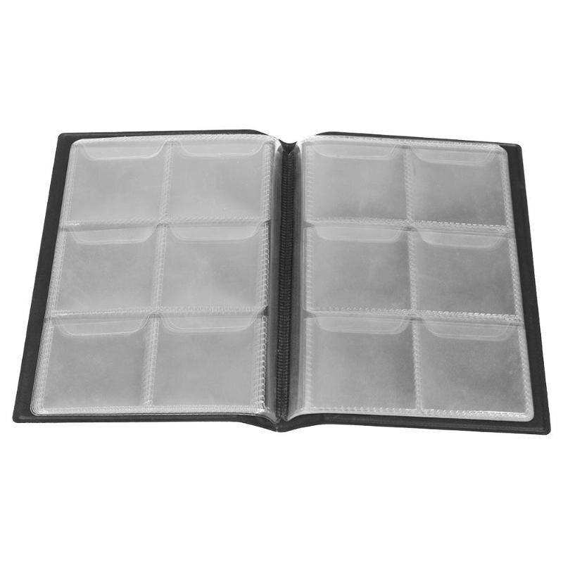 [해외]10 Pages 60 Pockets Album Silver Dollar Commemorative Coins Collection Book Money Penny Collecting Storage Organizer Album/10 Pages 60 Pockets Alb
