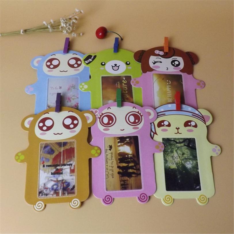 [해외]Wall Deco DIY Creative Mini Paper Photo FrameMini Colored Clothespins And Twine -Fit Instax Mini Film 9 11/Wall Deco DIY Creative Mini Paper Photo