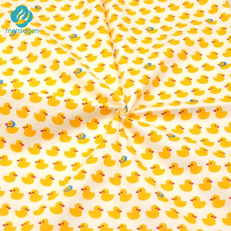 [해외]Mensugen 50cm * 160cm 패치 워크에 대 한 노란색 오리 코 튼 원단 아기 침구 시트 쿠션 베개 커버 담요 재봉 재료/Mensugen 50cm * 160cm 패치 워크에 대 한 노란색 오리 코 튼 원단 아기 침구 시트 쿠션 베개