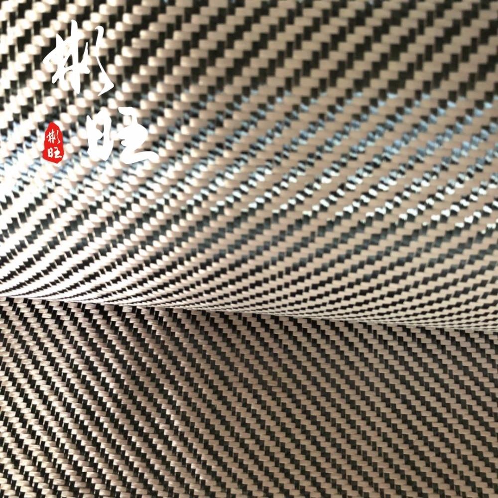 [해외]1500d 골드 케블라 및 3 k 블랙 탄소 섬유 능 직물 230gsm 3 k 탄소 섬유 천/1500d 골드 케블라 및 3 k 블랙 탄소 섬유 능 직물 230gsm 3 k 탄소 섬유 천