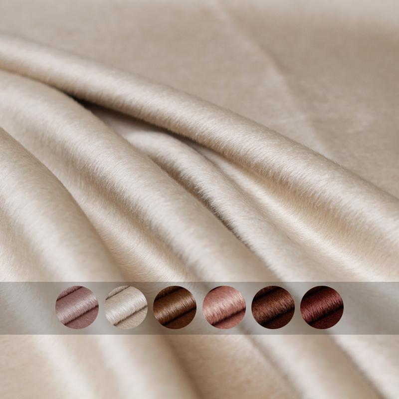 [해외]Pearlsilk 850 그램/메터 무게 양면 알파카 thicken lustre 알파카 및 울 소재 겨울 코트 diy 의류 직물/Pearlsilk 850 그램/메터 무게 양면 알파카 thicken lustre 알파카 및 울 소재 겨울 코트 di