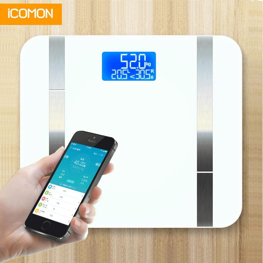 [해외]smart bathroom scales floor weight body fat mi scale human weighing scale balance bluetooth /smart bathroom scales floor weight body fat mi scale