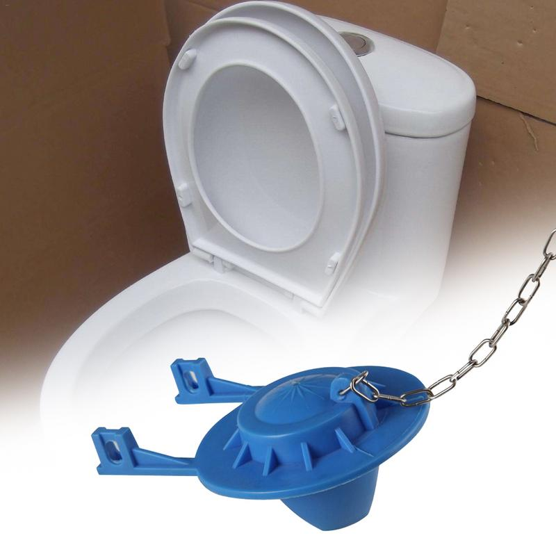[해외]Household Toilet Single Row PVC Flap Cover Bathroom Seal Flapper Rubber Ring Flap Cover Toilet Tank Accessories Home Supplies /Household Toilet Si