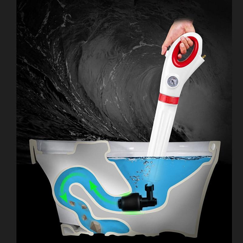 [해외]Toilet pipe floor drains sewer kitchen sink blocked pneumatic dredge tools,Toilet Plunger High Pressure Air dredges,J19026/Toilet pipe floor drain