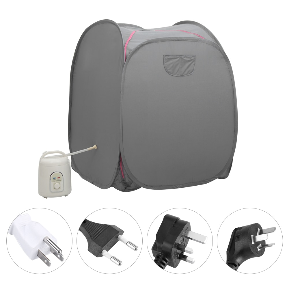 [해외]1.5L Sauna Steamer Portable Pot Machine Home Personal Spa Indoor Body Slimming Therapy/1.5L Sauna Steamer Portable Pot Machine Home Personal Spa I