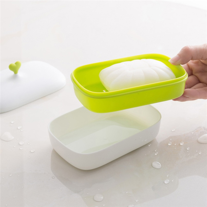 [해외]Soap Dispenser Dish Case Holder Container Box For Bathroom Travel Carry Case For bathroom 2y30/Soap Dispenser Dish Case Holder Container Box For B