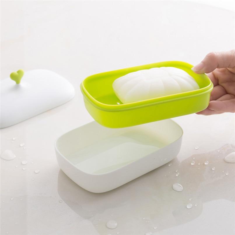 [해외]Soap Dispenser Dish Case Holder Container Box For Bathroom Travel Carry Case For bathroom 2y30/Soap Dispenser Dish Case Holder Container Box For B