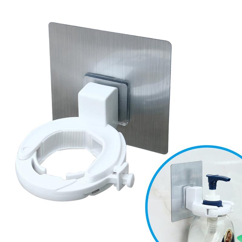 [해외]벽 마운트 자기 접착제 병 클램프 샤워 젤 액체 비누 랙 홀더 홈 욕실 화장실/벽 마운트 자기 접착제 병 클램프 샤워 젤 액체 비누 랙 홀더 홈 욕실 화장실