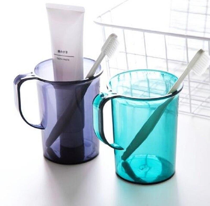 [해외]욕실 액세서리 가정용 커플 구강 세척제 컵 칫솔 컵 손잡이 가정용 보관 컵 성인용 워터 컵/욕실 액세서리 가정용 커플 구강 세척제 컵 칫솔 컵 손잡이 가정용 보관 컵 성인용 워터 컵