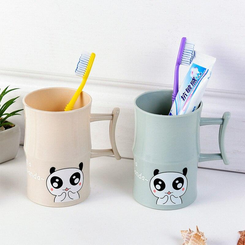 [해외]플라스틱 만화 동물 칫솔 컵 욕실 텀블러 mouthwash 여행 칫솔 홀더 컵 홈 욕실 액세서리 쥐/플라스틱 만화 동물 칫솔 컵 욕실 텀블러 mouthwash 여행 칫솔 홀더 컵 홈 욕실 액세서리 쥐