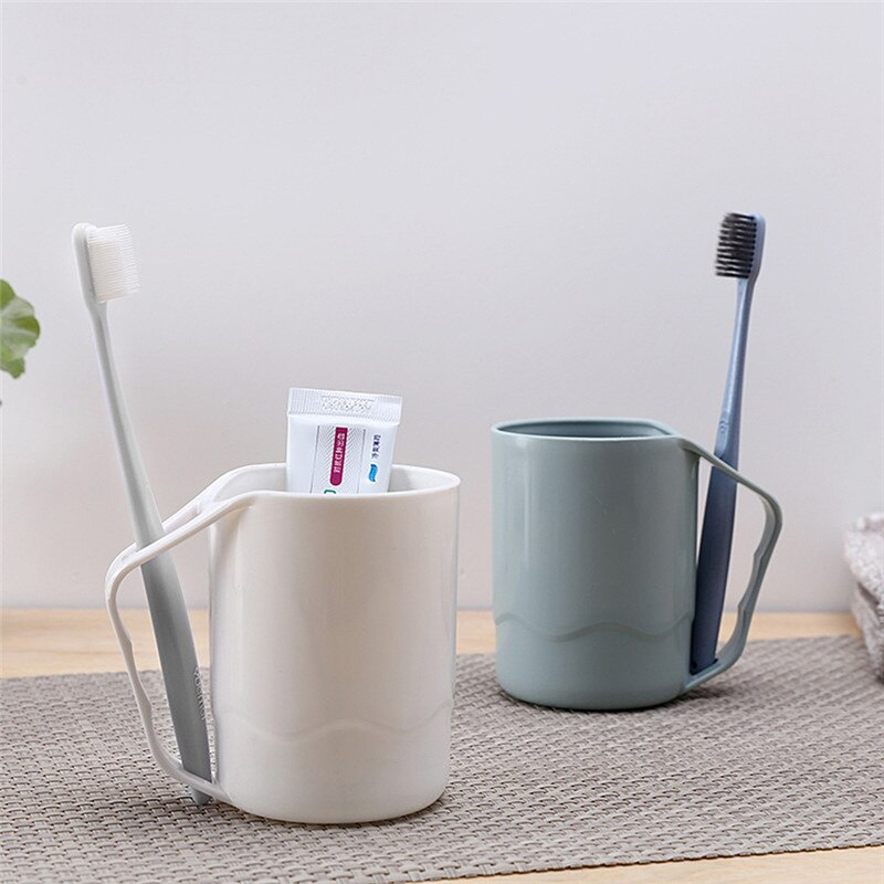 [해외]1PC 3Color Fashion  Gargle Cup Brushing Cup Drink Cup Couples Toothbrush Bathroom Mug Washing Cup Dropshiping/1PC 3Color Fashion  Gargle Cup Brush