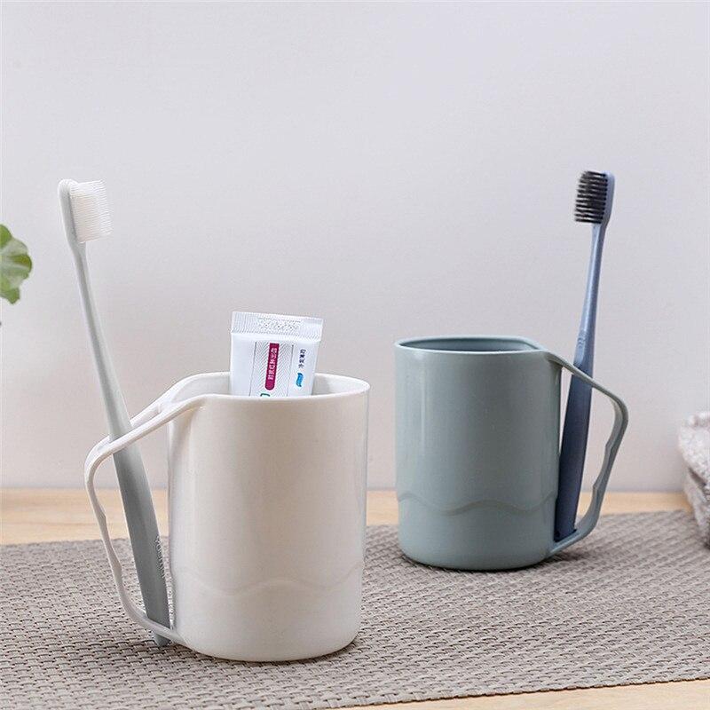 [해외]1PC 3Color Fashion  Gargle Cup Brushing Cup Drink Cup Couples Toothbrush Bathroom Mug Washing Cup Dropshiping/1PC 3Color Fashion  Gargle Cup Brush