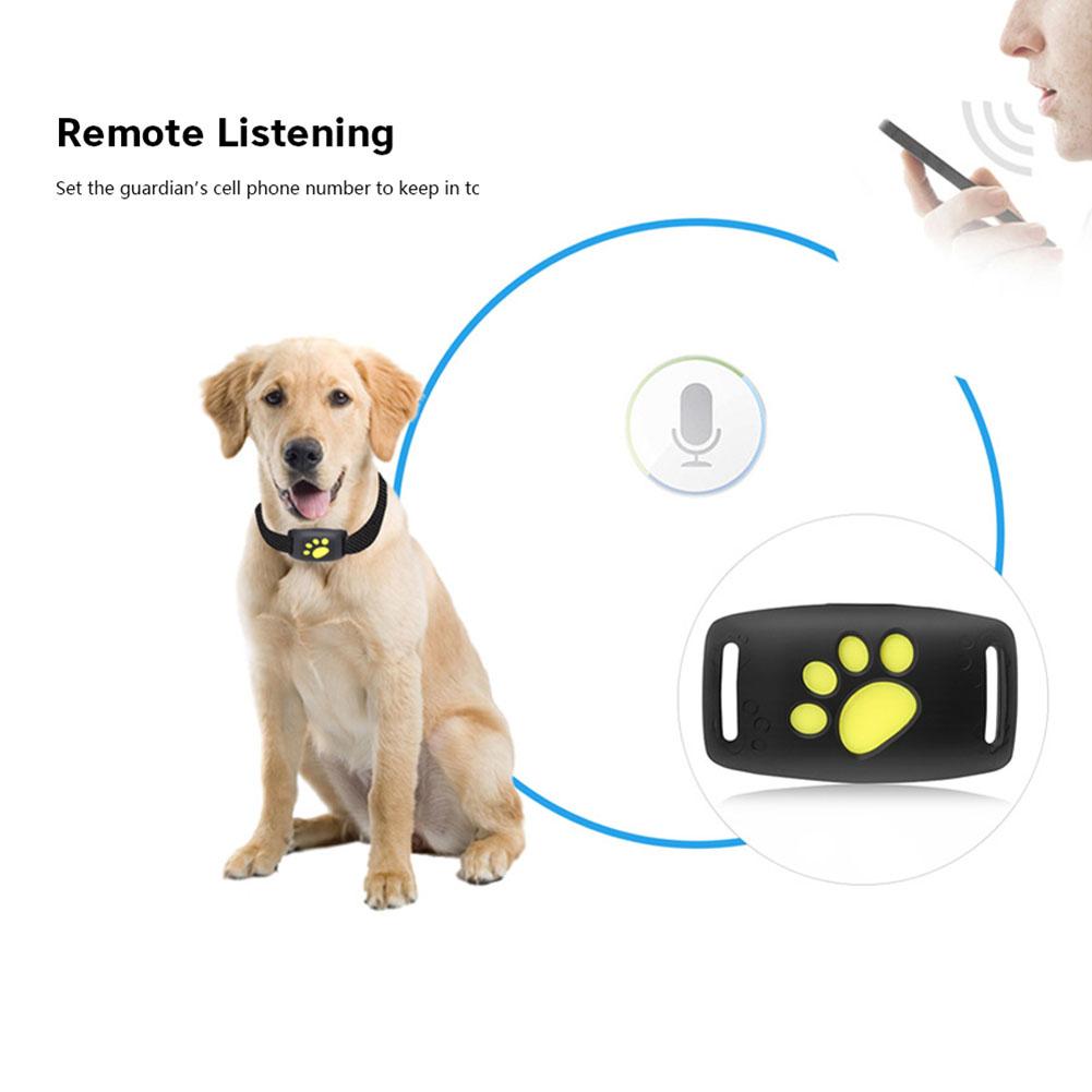 [해외]Dog Water-Resistant Collar GPS Tracker Pet GPS Callback Function USB Charging GPS Trackers for Universal Dogs/Dog Water-Resistant Collar GPS Track