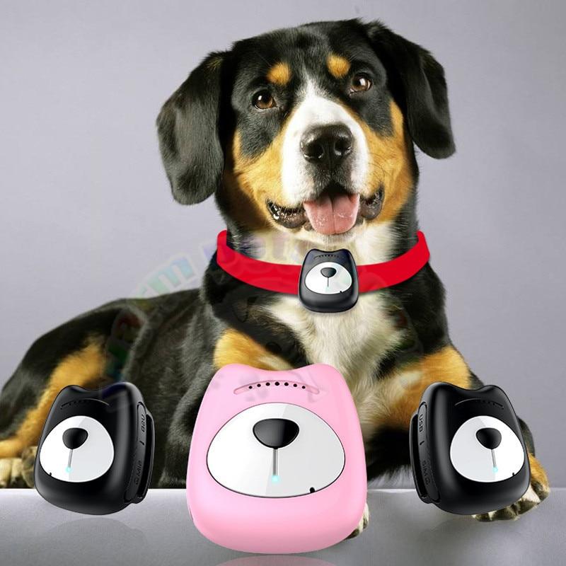 [해외]Pet Dog Cat GPS Tracker Waterproof Tracking Collar For Dog Real Time Free APP Mini Track Alarm Device Anti-fall Pink Black/Pet Dog Cat GPS Tracker