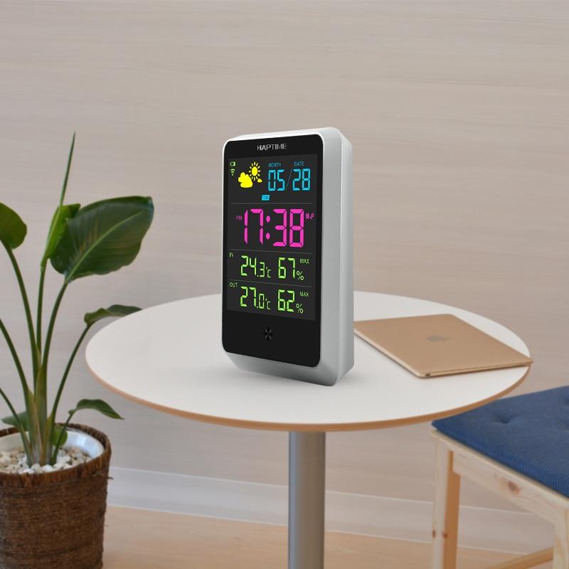 [해외]Diy 온도계 및 습도계, 날씨 forecaster 지능형 알람 시계, 다기능 무선 일 온도 습도계/Diy 온도계 및 습도계, 날씨 forecaster 지능형 알람 시계, 다기능 무선 일 온도 습도계