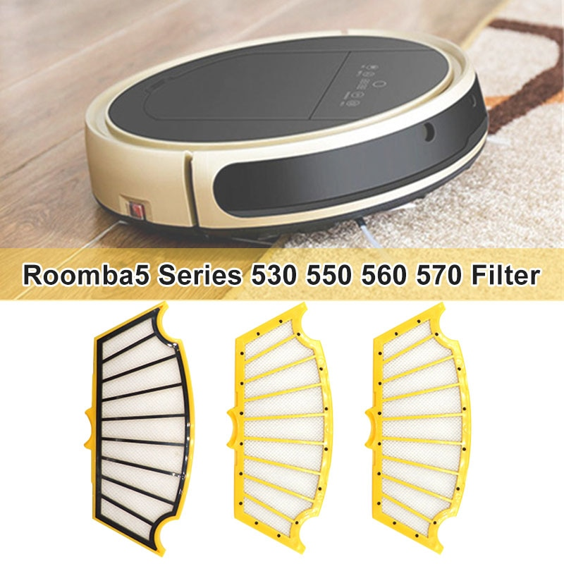 [해외]Filters Replacement Parts Compatible for Roomba5 Series 530 550 560 570 HY99 AP16/Filters Replacement Parts Compatible for Roomba5 Series 530 550