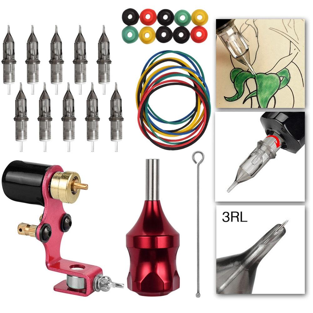 [해외]Hot New Professional Tattoo Machine Kit Rotary Accessories Parts for Beginner Artists HY99 MA19/Hot New Professional Tattoo Machine Kit Rotary Acc