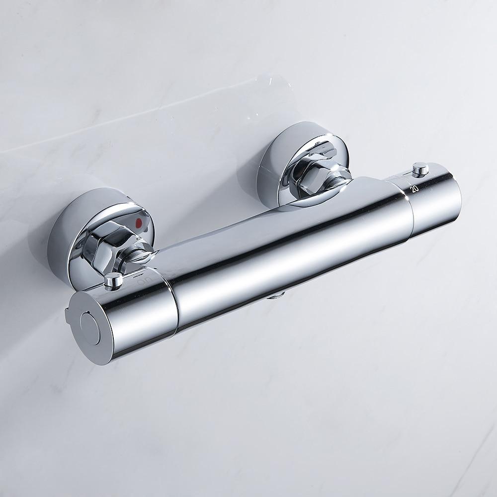 [해외]Everso 욕실 샤워 꼭지 세트 폭포 샤워 꼭지 온도 조절 혼합 밸브 온도 조절 샤워 믹서/Everso 욕실 샤워 꼭지 세트 폭포 샤워 꼭지 온도 조절 혼합 밸브 온도 조절 샤워 믹서