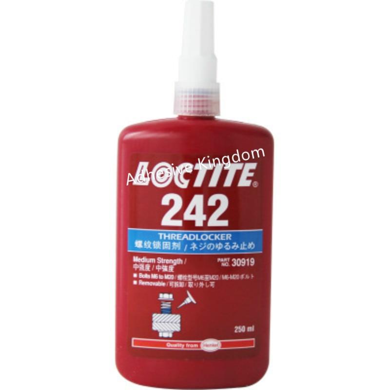 [해외]250ml Loctite 242 thread locking medium strength anaerobic thread seal medium viscosity/250ml Loctite 242 thread locking medium strength anaerobic