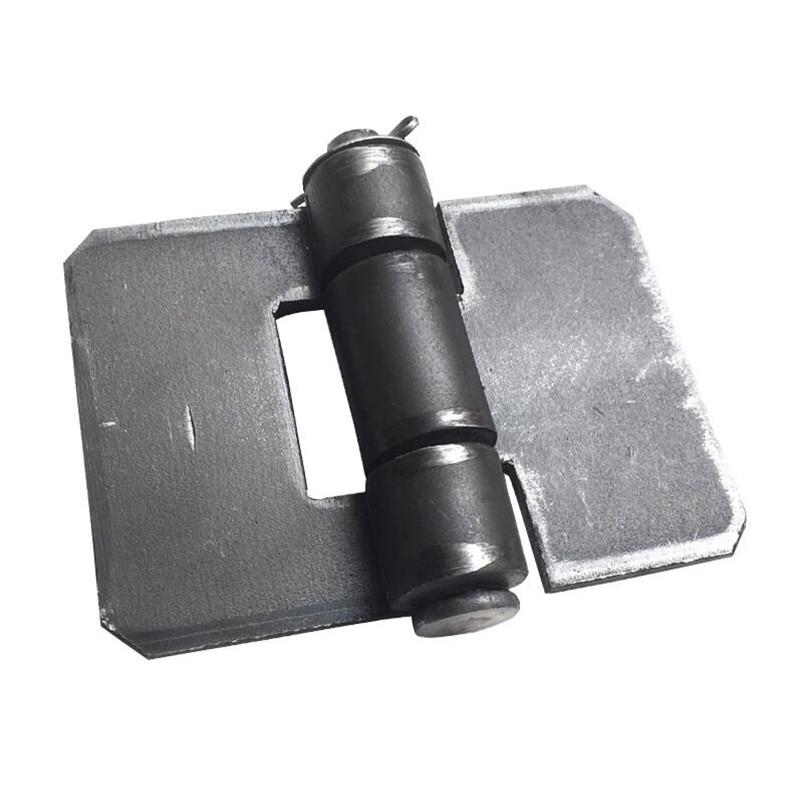 3 인치 용접 두꺼운 경첩 85*72*3mm 철 문 경첩 x2