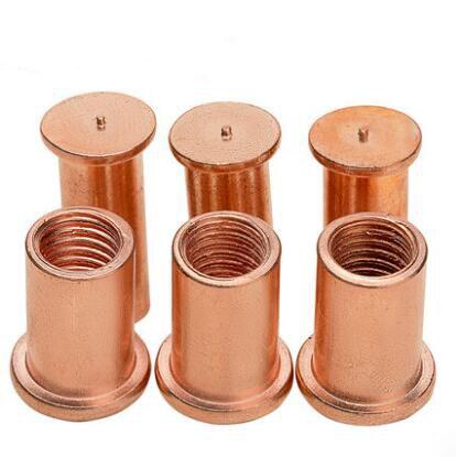 [해외]M3 M4 M5 M6 M8 Spot Welding Nuts Solder Joint Stud Brass Nut Copper Plating Bolts Screws/M3 M4 M5 M6 M8 Spot Welding Nuts Solder Joint Stud Brass