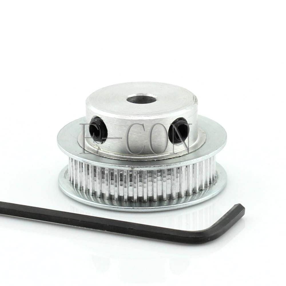 [해외]1pcs MXL48 Aluminum Timing Belt Pulley 48 Teeth 5mm/6mm/8mm/10mm/12mm/14mm/15mm/16mm/17mm Bore 7mm width Stepper Motor/1pcs MXL48 Aluminum Timing