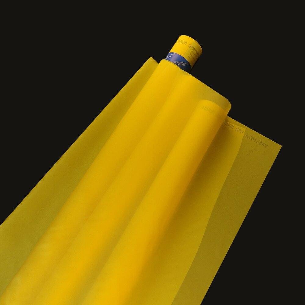 [해외]255 메쉬/100 t 노란색 127 cm 30 미터 100 t 폴리 에스터 실크 스크린 인쇄 메쉬/255 메쉬/100 t 노란색 127 cm 30 미터 100 t 폴리 에스터 실크 스크린 인쇄 메쉬