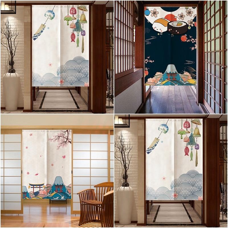 [해외]새로운 일본 입구 커튼 도어 스크린 장식 방진 도어 커튼 부엌 침실 홈 드레이프 장식/새로운 일본 입구 커튼 도어 스크린 장식 방진 도어 커튼 부엌 침실 홈 드레이프 장식