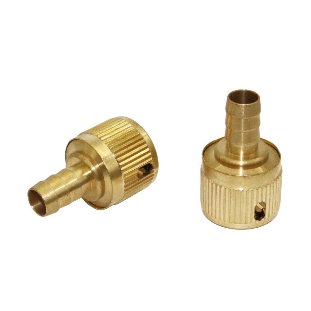 [해외]Full copper Barbed 1/2 Inch Quick Connector Irrigation Plumbing Pipe Fitting Joint tube Hose Water conector 1 Pc/Full copper Barbed 1/2 Inch Quick