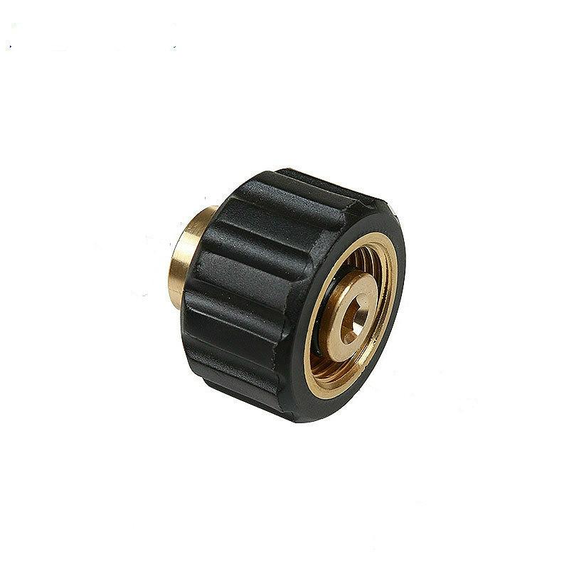 [해외]Pressure washer foam lance M22 G1/4 joint copper foam gun water gun connector brass adapter quick union connection hose coupling/Pressure washer f