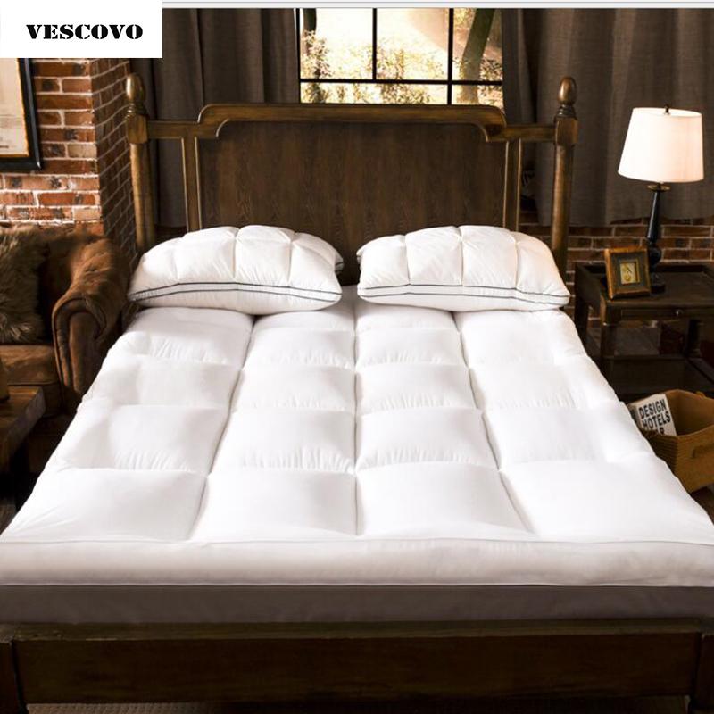 [해외]NEW 침대 트윈 퀸 사이즈 두꺼운 접이식 토퍼 침대 매트리스 토퍼 150 * 200 120 * 200/NEW bed twin queen size Thickening folding topper bed Mattress Topper 150*200 120*200