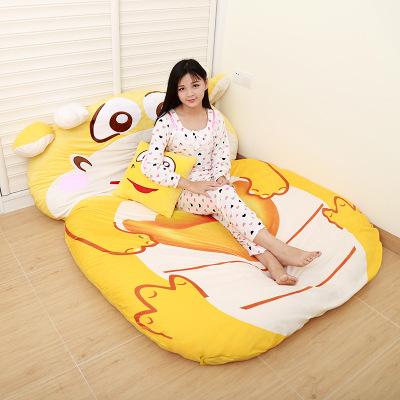 [해외]만화 드래곤 굵은 게으른 침대 매트리스 더블 다다미 맞춤 만화 소파 침낭/Cartoon dragon thickening  lazy bed Mattress Double tatami Personalized cartoon sofa sleeping bag