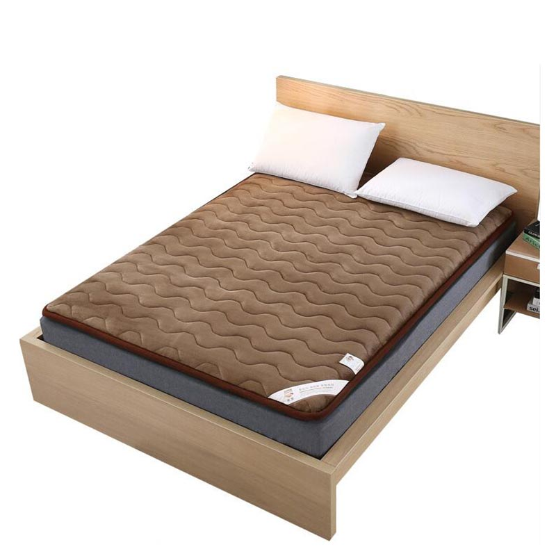 [해외]VESCOVO 산호 양털 싱글 기숙사 다다미 매트리스 토퍼 침대 매트리스 상단 150 180/VESCOVO Coral fleece single dormitory tatami mattress topper bed filling mattress top 150 180