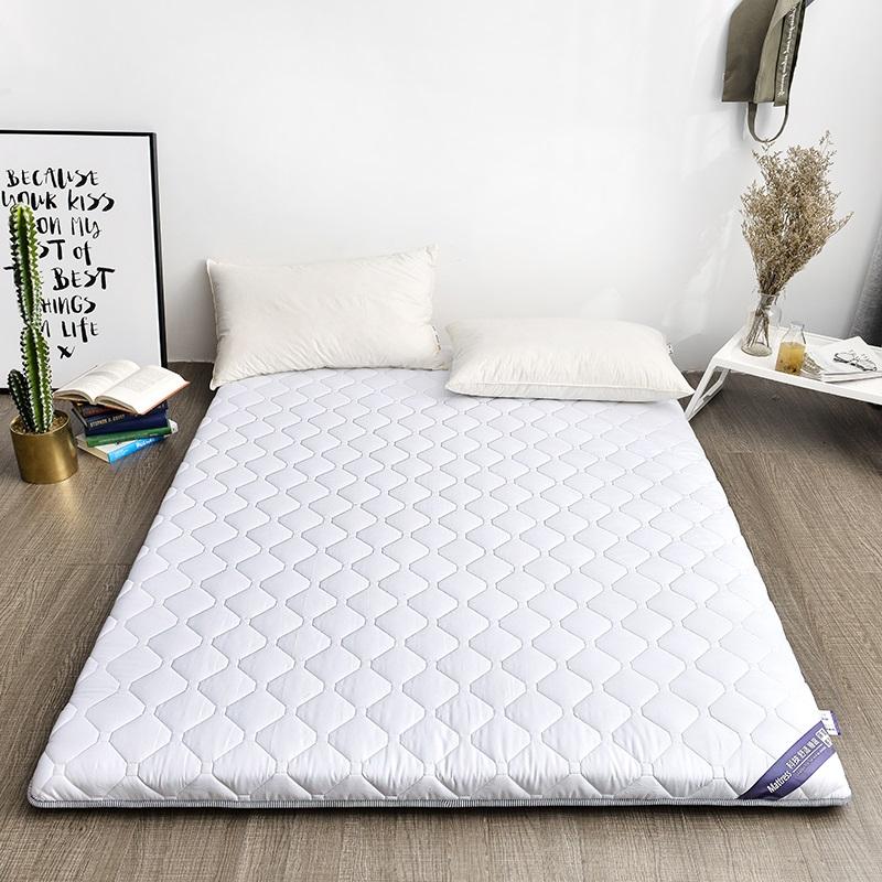 [해외]유아 빛나는 5cm 100 % 코튼 매트리스 더블 침대 매트 다다미 매트리스 멀티 사이즈 미끄럼 방지 매트리스 학생 기숙사 침대 매트/Infant Shining 5CM 100% Cotton Mattress Double Bed Mat Tatami Mattress