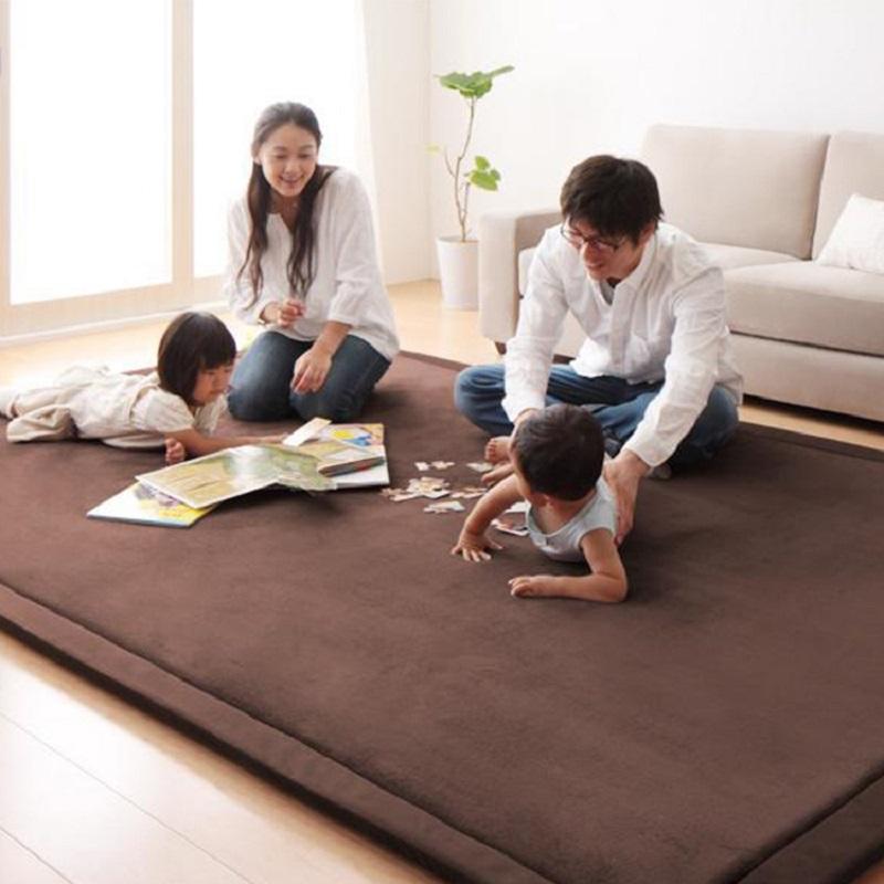 [해외]새로운 패션 두꺼운 산호 벨벳 커버 스폰지 매트리스 카펫 다다미 거실 침실 매트 120/150/180/New Fashion Thick Coral Velvet Cover Sponge Mattresss Carpet Tatami Living Room Bedroom M
