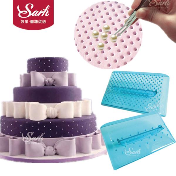[해외]2pcs / lot 플라스틱 퐁당 케이크 금형 별 부엌에 대 한 Screedings 인쇄 패턴 Bakeware 요리 도구/2pcs/lot New Arrivals Plastic Fondant Cake Mold Stars Spot Patterns Printing S