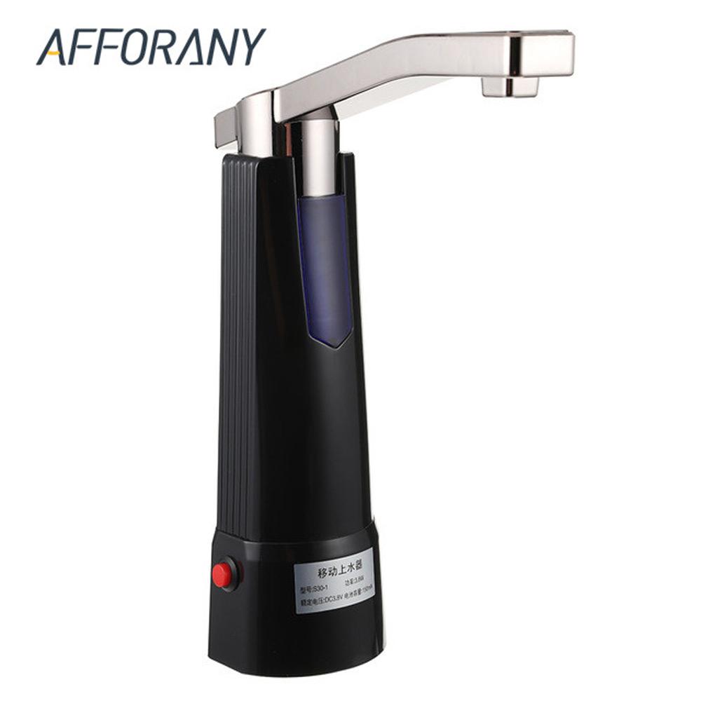 [해외]무선 전기 식수 병 펌프 투명 호스 주방 도구 USB 케이블 물을 마시는 병 2 색/Wireless Electric Drinking Water Bottle Pump Transparent Hose Kitchen Tools USB Cable Pressing Wate