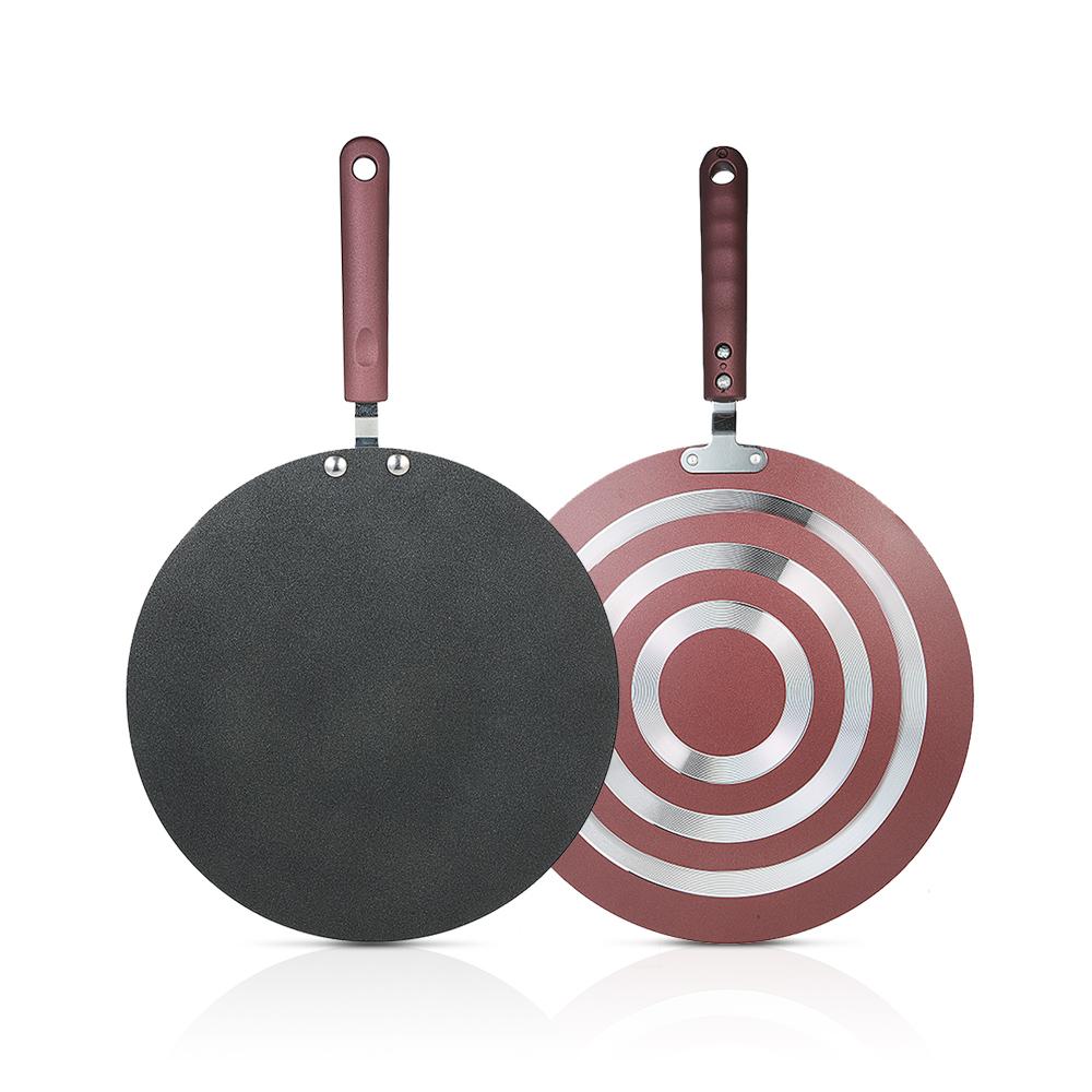[해외]주방 팬케이크 팬 비 스틱 프라이팬 주방 도구 플랫 팬 철판 PanSpreader 및 주걱 크레이프 메이커 철판/Kitchen Pancake Pan Non-stick Frying Pan Kitchen Tools Flat Pan Griddle PanSpreader