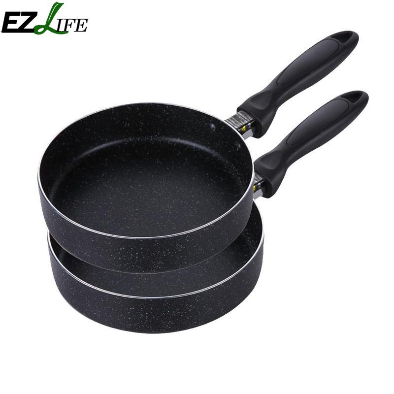 [해외]EZLIFE Nonstick 팬 무연 프라이팬 스테이크 PanCeramic 코팅 일본식 프라이팬 냄비 LQZ1710/EZLIFE Nonstick Pan Smokeless Frying Steak PanCeramic Coating Japanese-style Fryi