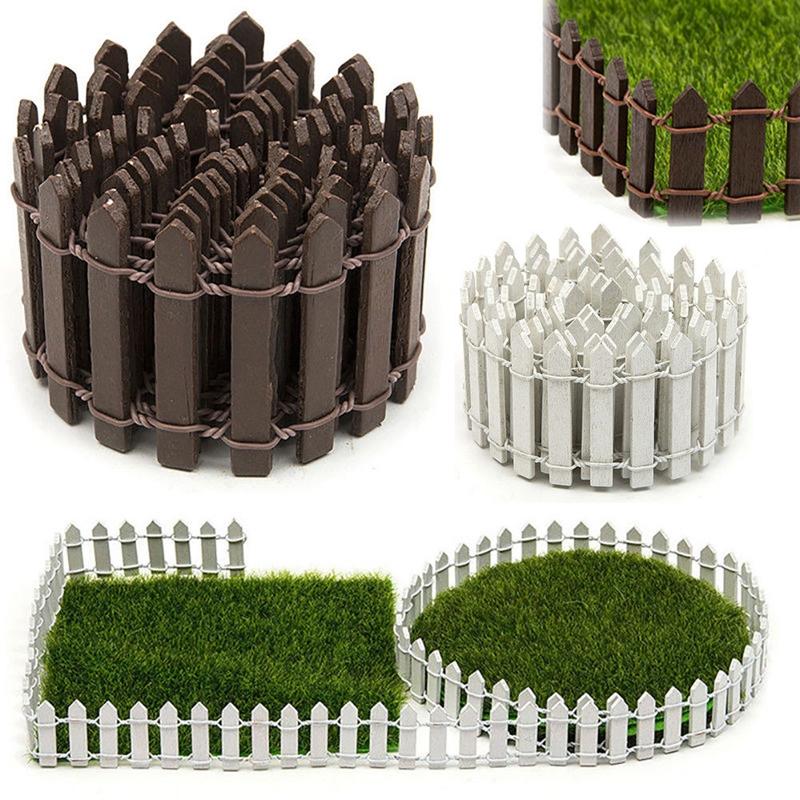 [해외]DIY 정원 부속품 장식 소형 요정 키트 나무 울타리 Terrarium 장식 용품 인형 정원 장식 Accerssories/DIY Garden Accessories Decor Miniature Fairy Kit Wood Fence Terrarium Decorati