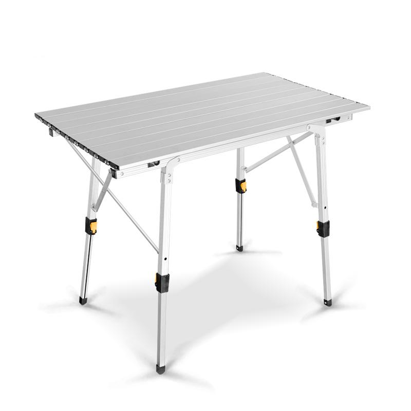 [해외]금속 알루미늄 야외 설정 휴대용 접는 피크닉 테이블 알루미늄 합금 리프팅 가정용 테이블/Metal Aluminum Outdoor Sets Portable Folding Picnic Table Aluminum Alloy Lifting Household Table