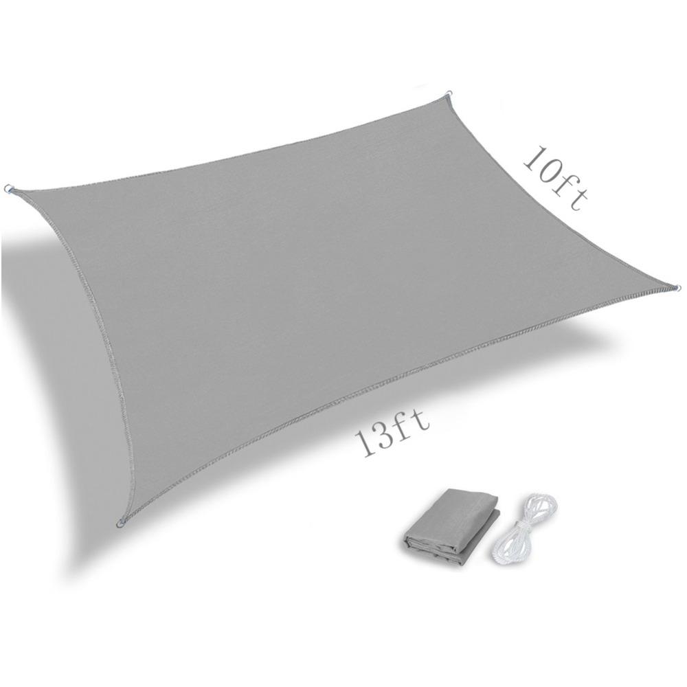[해외]태양 그늘 항해 태양 그늘 그물 UV 방수 회색 10 * 13ft/Sun shadow sail sun shade net UV waterproof gray 10*13ft