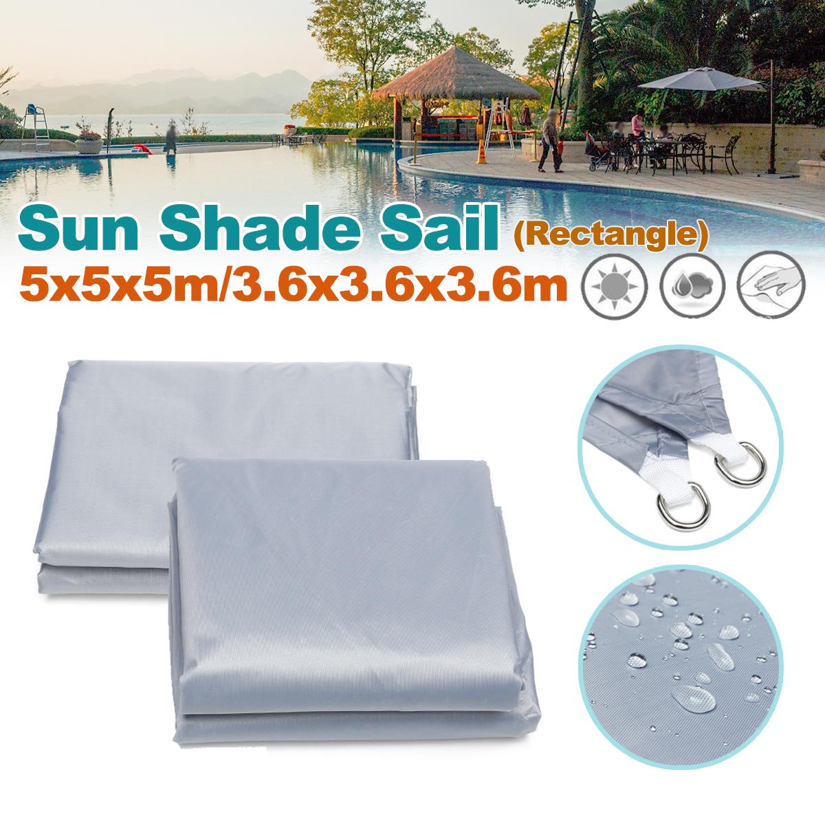 [해외]3.6 m / 5 m 삼각형 방수 태양 방패 모양 천막 커버 모자 옥외 정원/3.6m/5m Triangle Waterproof Sun Shield Shape Awning Cover Cap Outdoor Garden