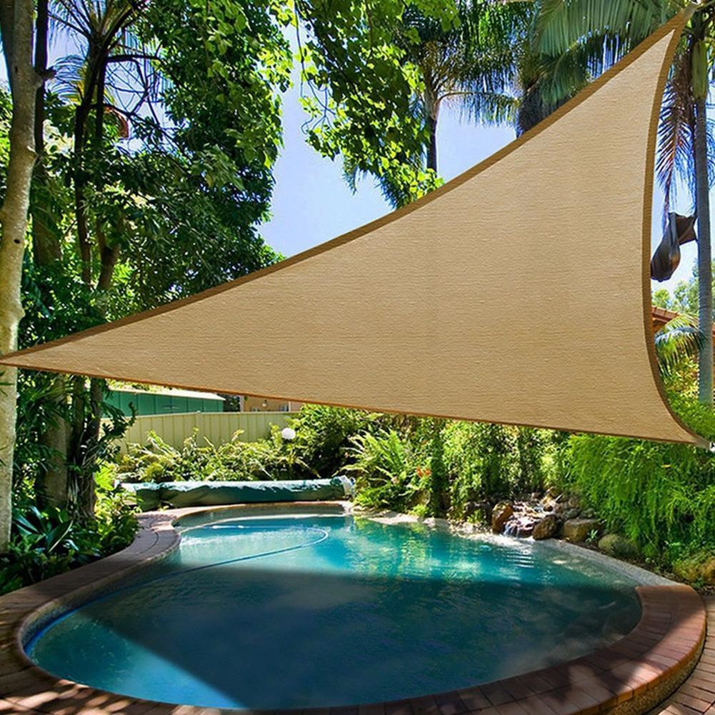 [해외]Riangle 태양 그늘 세 일 야외 태양 보호 캐노피 정원 테라스 수영장 그늘 세일 캠핑 피크닉 텐트/Riangle Sun Shade Sail Outdoor Sun Protection Canopy Garden Patio Pool Shade Sail Campin