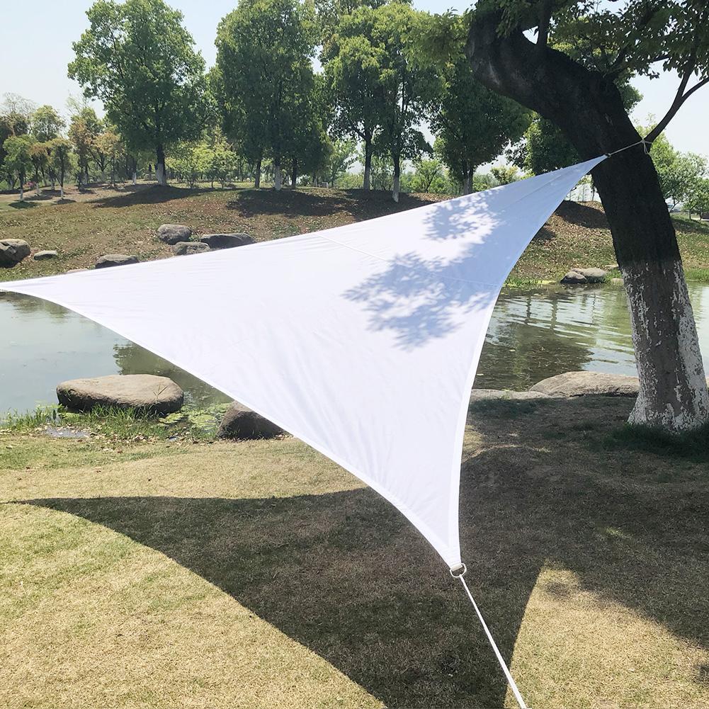 [해외]정원 마당 그늘 항해 수출 품질 폴리 에스테르 천으로 방수 그늘 세일 삼각형 항해 금속 버클 모델/Garden Courtyard Shade Sails Exported Quality Polyester Cloth Waterproof Shade Sails Triang