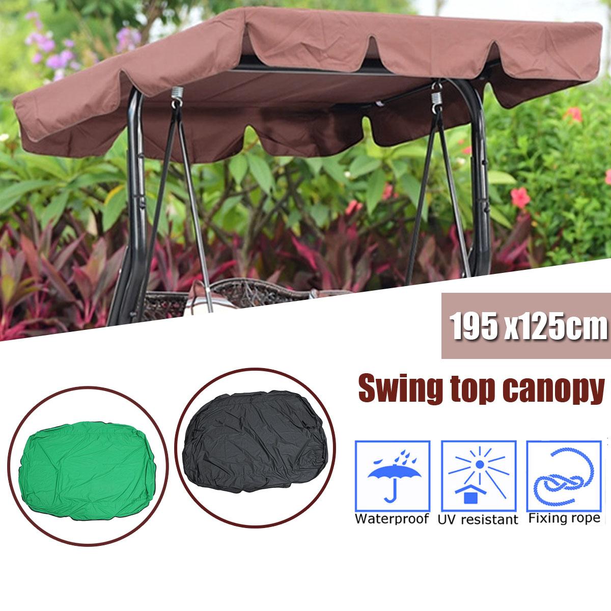 [해외]여름 원예 스윙 커버 Ourdoor 안뜰 정원 스윙 의자 캐노피 교체 해먹 캐노피 스윙 의자 천막/Summer Gardening Swing Cover Canopy Replacement for Ourdoor Courtyard Garden Swing Chair Ha