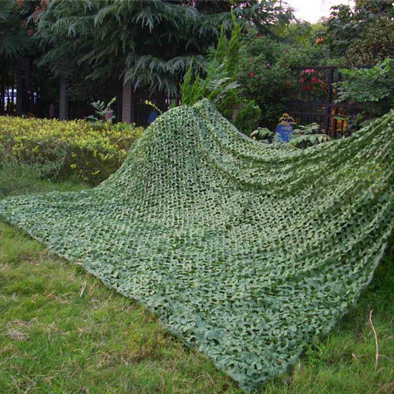 [해외]2M X 4M 순 녹색 밀리터리 위장 연명 우드랜드 단풍 카모 커버 육군 정글 그물 캠핑 사냥을양산/2M X 4M Pure Green Military Camouflage Netting Woodlands Leaves Camo Cover Army Jungle Net