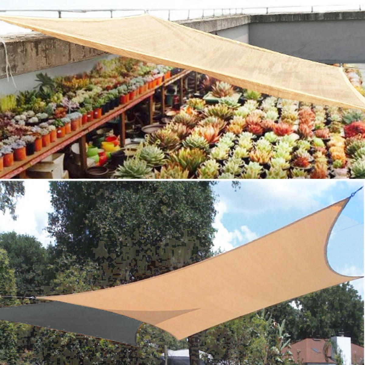 [해외]방수 나일론 텐트 양산 항해 정원 안뜰 마모 방지 천막 자외선 차폐 그물 캐노피 정원 용품 도구/Waterproof Nylon Tent Sunshade Sail Garden Patio Wearproof Awning Mesh Patio UV Shield Netti