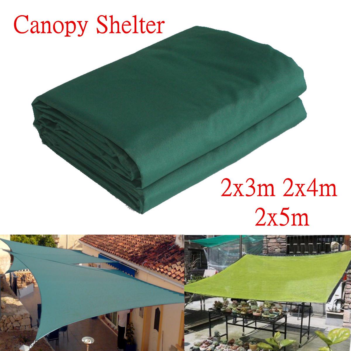 [해외]3 / 4 / 5m 헤비 듀티 그늘 캐노피 야외 캠핑 하이킹 야드 대피소 커버 방수 가든 파티오 천막 부속품 그린/3/4/5m Heavy Duty Shade Canopies Outdoor Camping Hiking Yard Shelters Cover Waterp
